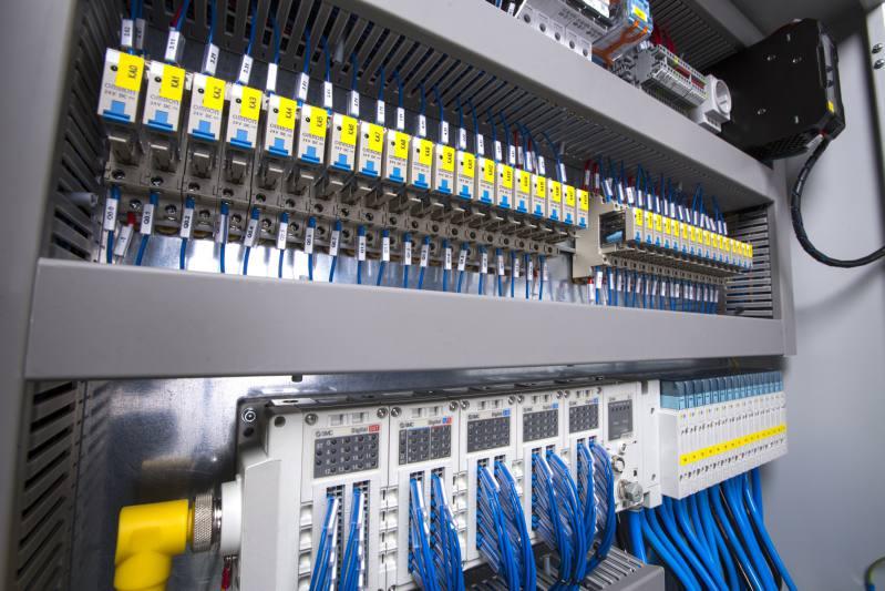Panel de Instalación Eléctrica Industrial