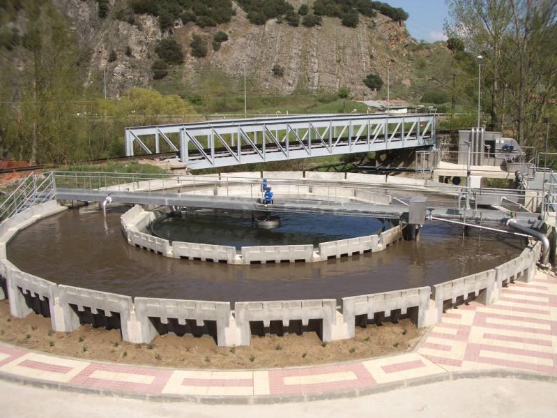 Planta de depuración de aguas